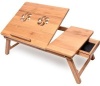 View Shrih Bamboo Portable Laptop Table(Finish Color - Brown) Furniture (Shrih)