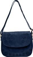 tap fashion Women Blue PU Sling Bag