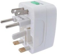 View Axxel Universal International Pocket Travel Charger Worldwide Adaptor(White) Laptop Accessories Price Online(Axxel)