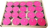 Nikki Creations Tea Light Candles Lavender- Pack Of 20 Candle(Pink, Pack of 20) - Price 145 51 % Off