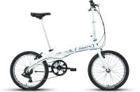 Dahon Vybe D7 20 T Folding Bikes/Folding Cycle(7 Gear, White)