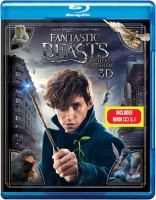 Fantastic Beasts And Where To Find Them – 3D Blu Ray(3D Blu-ray English)