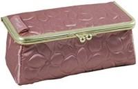 Jacki Design ABD14031PK Royal Blossom Clasp Cosmetic Bag & Eyeglass Case Pink Cosmetic Bag(Pink)