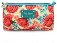 Jacki Design Miss Cherie Travel Cosmetic Bag - Blue Cosmetic Bag(Blue)