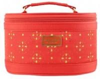 Jacki Design Lightweight Fabric Cosmopolitan Beauty Train Travel Case -- Several Colors (Orange) Cosmetic Bag(Orange)