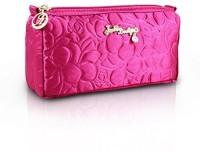 Jacki Design Royal Blossom Cosmetic Makeup Bag Organizer (Hot Pink) ABC14017 Cosmetic Bag(Pink)