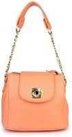 Shoetopia Women Pink PU Sling Bag