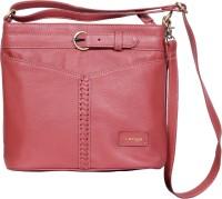 l'ange leather handbags Sling Bag(Pink, 5 L)