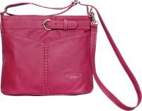 l'ange leather handbags Sling Bag(magenta, 5 L)