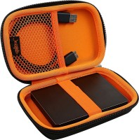View SmartFish [DEFENDER] 2.5 inch Hard Disk Case(For All 2.5 inch hard drive & Travel Accessories, Orange) Laptop Accessories Price Online(SmartFish)