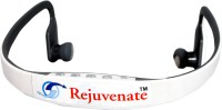 REJUVENATE MRS-BS15 WITH MIC Headset with Mic(White, In the Ear)