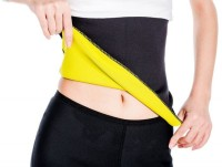 Welcome India Bazaar wib shapewear hot shaper Slimming Belt(Black) - Price 120 87 % Off