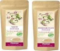 Pramsh Premium Quality Neem Leaf & Pomegranate Peel Powder Combo 100gm Each(200 g)