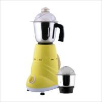 Anjalimix Zobo Duo 600 W Mixer Grinder(Yellow, 2 Jars)