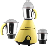 Anjalimix Insta Yellow 1000 Watts 1000 W Mixer Grinder(Yellow, 3 Jars)