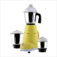 ANJALIMIX ZOBOYELLOW Zobo 600 W Mixer Grinder (3 Jars, Yellow)