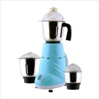 Anjalimix Zobo 600 W Mixer Grinder(Blue, 3 Jars)