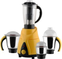 Anjalimix Spectra Yellow 1000 Watts 4 Jars 1000 W Mixer Grinder(Yellow, 4 Jars)