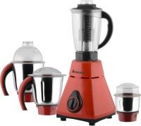 Anjalimix Amura red 750 Watts 4 Jars 750 W Mixer Grinder(Red, 4 Jars)