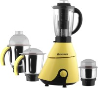 Anjalimix Insta Yellow 1000 Watts 4 jars 1000 W Mixer Grinder(Yellow, 4 Jars)