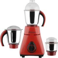 Anjalimix Amura Red 1000 Watts 1000 W Mixer Grinder(Red, 3 Jars)