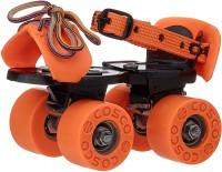 Cosco ZOOMER Quad Roller Skates - Size 31 - 34 Euro(Orange)