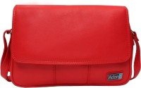 Adone Women Red Genuine Leather Sling Bag