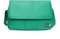 Adone Women Green Genuine Leather Sling Bag
