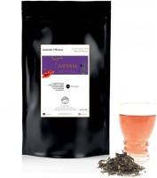 Tassyam Tassyam Lavender Hibiscus Green Tea Darjeeling Handmade 250 grams Premium Window Pouch Hibiscus, Lavender Green Tea Bulk Pack(250 g)