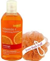 BodyHerbals Brightening Booster, Orange Shower Gel With Skin Conditioners(200ml)(200 ml)