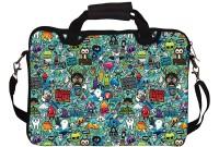Shrih SH-03783 Canvas Sleeve Case Laptop Bag(Multicolor)