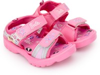 Barbie Girls Slip-on Sports Sandals(Pink)