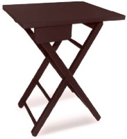 View Colorwood Lara foldable Solid Wood Bedside Table(Finish Color - Brown) Furniture (Colorwood)