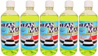 Cleanmax (LIME) Disinfectant Lemon(1 L, Pack of 5)