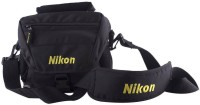 Nikon DSLR  Camera Bag(Black, Yellow)