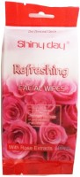 One Personal Care Refreshing Wipes with Rose extracts | Cosmetic Cleanser | Makeup Remover | Anti-Puritic | Moisturizing | Soothing | Deodorizing(Pack of 10) - Price 139 53 % Off