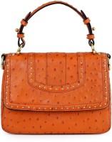 Da Milano Hand-held Bag(Orange)