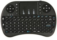 FLIPFIT 3D VIRTUAL GAMING AIR FLY MOUSE CUM STYLISH QWERTYY Virtual Laser Laptop Keyboard(Black)