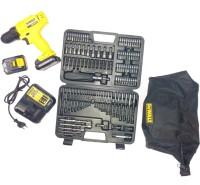 DEWALT DCD700C2A (With 109 Piece Accessories Kit) Pistol Grip Drill(10 mm Chuck Size)