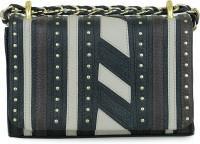 Da Milano Women Multicolor Genuine Leather Sling Bag