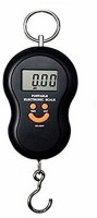 eShop24x7 50kg Digital LCD Luggage Pocket Portable Hanging Weight Weighing Scale(Black)