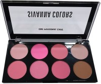 One Personal Care Sivanna Inspired | Ultra Blush Palette | Absolute Revolutionary Colors(Shades of Pink, Just Brown)
