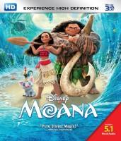 Moana - 3D Blu Ray(3D Blu-ray English)