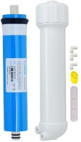View BalRama RO Membrane Kit with VONTRON 75gpd + Housing + Elbow Connectors + Teflon Tape + Flow Restrictor Tube (FRT) Solid Filter Cartridge(0.005, Pack of 7) Home Appliances Price Online(BalRama)