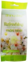 One Personal Care Refreshing Wipes with Jasmine extracts | Cosmetic Cleanser | Makeup Remover | Anti-Puritic | Moisturizing | Soothing | Deodorize(Pack of 10) - Price 139 53 % Off