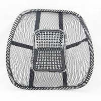 Shrih SH-03958 Car Seat Chair Back Lumbar Support Cushion Pad Massager(Multicolor)