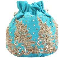 TARUSA Trendy Potli(Blue)