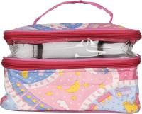 Utsavi UF-MPB-10257-Pink Waterproof Multipurpose Bag(Pink, 15 inch)