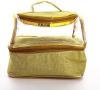 Utsavi UF-MPB-10055-Gold Waterproof Multipurpose Bag(Gold, 6 inch)