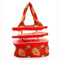Utsavi UF-MPB-10063-Red Waterproof Multipurpose Bag(Red, 6 inch)